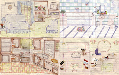 Very Best Printable Paper Doll Houses 500 x 315 · 54 kB · jpeg