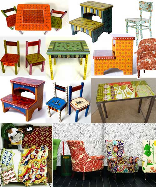 Ninja Baby & Other Assorted Goodies: Bohemian Furniture